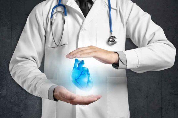 Ecografia cardiologica di base - medico e cuore