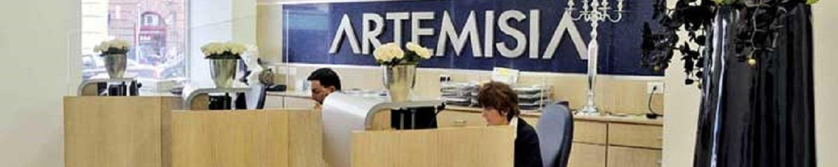 medicina estetica - ingresso di una sede di Artemisia Lab a Roma
